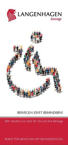 Titel Flyer Beirat für Menschen mit Behinderungen