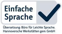 Siegel Einfache Sprache (Logo)
