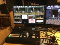 Steuerpult beim Streamingkonzert (2)