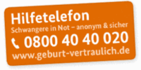 Hilfetefon Schwangere in Not (Logo)
