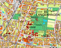 Straßenkarte - Anfahrt zum Mehrgenerationen-Bewegungs-Park