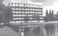 Krankenhaus mit Teich (ehemal. Badeanstalt) 1965