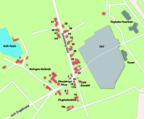 Kartenauschnitt Schulenburg-Nord (Quelle: NHZ - Sabine Erdbrink)