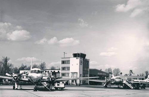 Flughafen Mitte der 60er Jahre