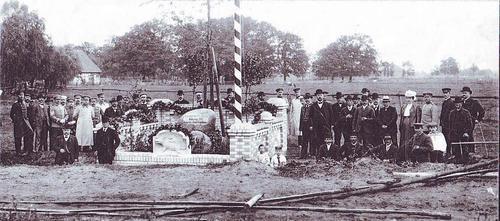 Einweihung Denkmal Hubertusjagd Hainhaus