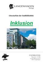 Titelbild der Literaturliste Inklusion der Stadtbibliothek Langenhagen